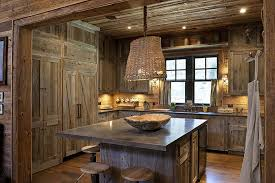rustic barn wood kitchen cabinets 11 cabin kitchen ideas for a rustic mountain retreat