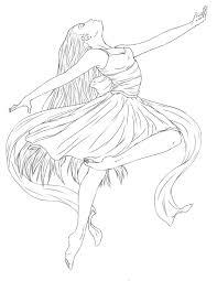ballerina coloring pages u2013 wallpapercraft