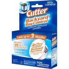 cutter backyard bug control mosquito repellent lantern refill hg
