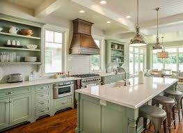 green kitchen ideas enchanting light green kitchen cabinets and kitchen style color