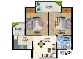3 bhk apartment floor plan sikka kaamya floor plan