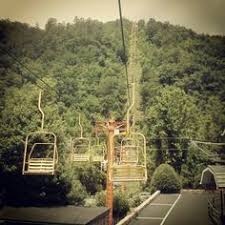 Chair Lift In Gatlinburg Old Gatlinburg Parkway Page Three The Great Smoky Mts Of East