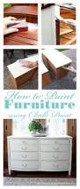 How To Repaint Wood Furniture by How To Paint Furniture Using Chalk Paint Confessions Of A Serial