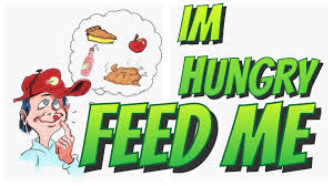 send food i m hungry send me food