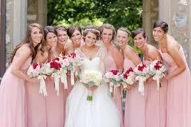 bridesmaid dresses richmond va pink wedding in richmond virginia with diy elements