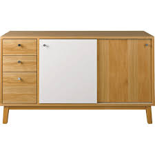 2 Door Oak Sideboard Merrick Amazon Co Uk Kitchen U0026 Home