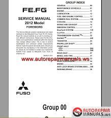 mitsubishi canter 2012 service manual auto repair manual forum