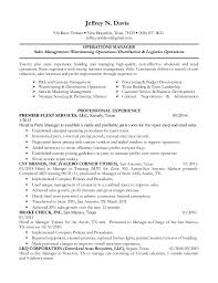 high touch operations manager resume 28 images resume sles by