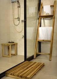 three tier teak bath shelf crate and barrel open shelves are big