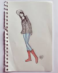 autumn clothing collection sketches u2013 a beautiful mess
