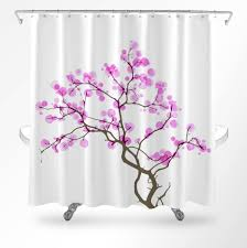 Deer Shower Curtains Cherry Blossom Shower Curtain Floral Shower Curtain Shower