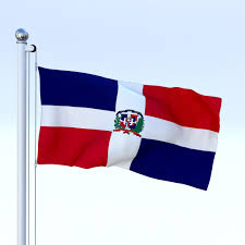 Dominican Republic Flag History Animated Dominican Republic Flag 3d Model