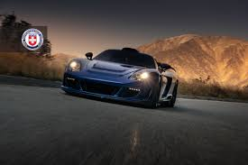 gemballa mirage gemballa mirage gt goes canyon carving wearing hre performance wheels