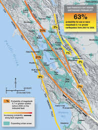 Fault Line Map Geology Of The Napa Valley Earthquake