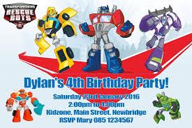 optimus prime birthday template printable transformers optimus prime birthday invite