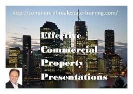 Commercial Real Estate Lease Template how to do a commercial real estate property presentation or