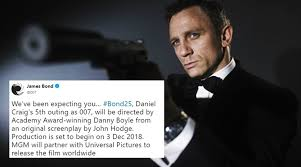 james bond film when is it out daniel craig to star in james bond film again twitterati excited