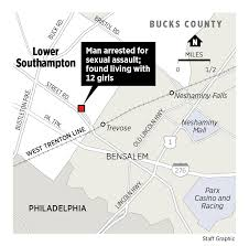 Bucks County Map Police Parents Admit U0027gifting U0027 Teen To Bucks Man All 3 Arrested