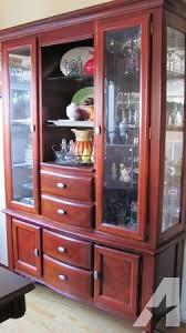 cherry wood china cabinet broyhill china cherry classifieds buy sell broyhill china cherry