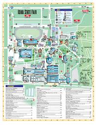 Illinois State Fairgrounds Map by 2017 National Junior Angus Show