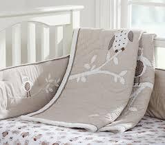 Owls Crib Bedding Hadley Baby Bedding Pottery Barn