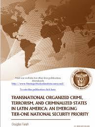 transnational organized crime terrorism and criminalized states