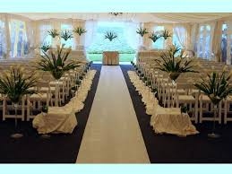 wedding decoration ideas large white tent with small blackboard