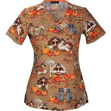 thanksgiving scrub top 23 best scrub tops more images on scrub tops