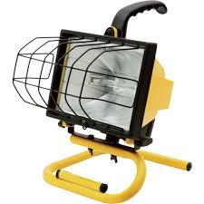 ironton halogen worklight u2014 500 watts 8000 lumens portable work
