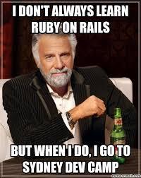 Ruby On Rails Meme - don t always learn ruby on rails