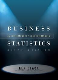 ken black business statistics contemporary decision making 2009