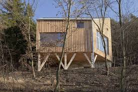 Wood House Plans by A Hexagon Shaped Wooden House A Lt Architekti Small House Bliss