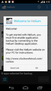 android helium best way to enable helium backup on any phone tested on moto g