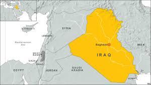 baghdad on a map blast bombings strike baghdad