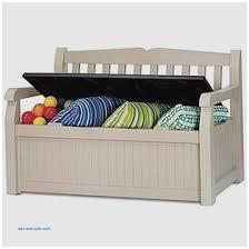 Best Outdoor Storage Bench Storage Benches And Nightstands New Keter Eden Plastic Garden