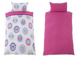 Peppa Pig Single Duvet Set Owl Children U0027s Single Bedding Set 4 99 Argos