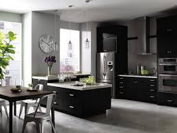 design masculine kitchen design white fiberboard countertop black