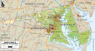 State Of Maryland Map by Maps Of Maryland Cities Map Of Maryland Cities My Blog Local