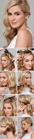 3 cute hairstyle tutorials for medium length hair makeup