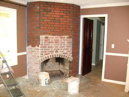 brick fireplace interior home design images decoration ideas
