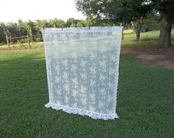 Shabby Chic Balloon Curtains by Balloon Shade Etsy