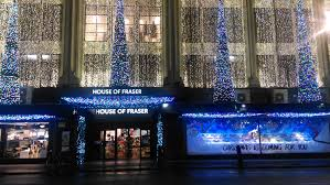 file house of fraser christmas 2016 decorations london united