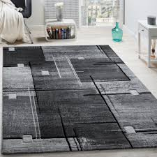 Modern Geometric Rugs by Luxury Designer Rug Contour Cut Geometric Checked Mottled