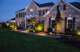 House Landscape Lighting Landscape Lighting Low Voltage Lighting Lakeland Landscaping