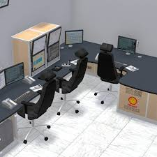 Control Room Desk Plant And Process Control Room Furniture Thinking Space Systems