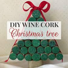 diy wine cork christmas tree tutorial decor by the seashore