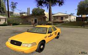 crown victoria 2003 nyc taxi for gta san andreas