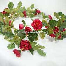 Flower Wholesale High Quality Real Touch Artificial Rose Flower Vine Wholesale Rose