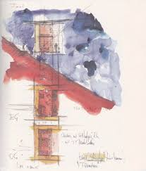 more zumthor watercolor sketches watercolor love pinterest