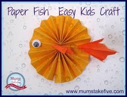 ocean water theme craft paper plate aquarium